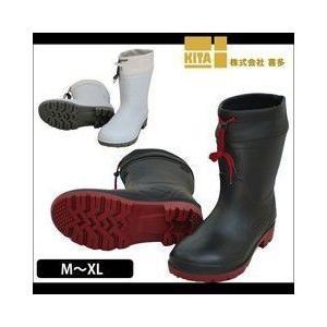 【エントリーでポイント5倍】長靴 安全長靴 レインブーツ 防水 喜多 PVCセーフティブーツ ショート 耐油 KR-7440|kanamono1