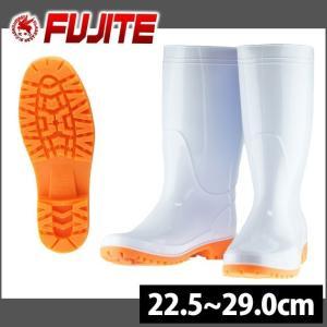 長靴 あったか レインブーツ レインシューズ 防水 雨靴 梅雨対策 富士手袋工業 フットセイバー衛生長 白耐油 T-8881|kanamono1