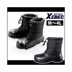 長靴 あったか スパイク レインブーツ レインシューズ 防水 雨靴 XEBEC(ジーベック) EVA防寒長靴 85714|kanamono1