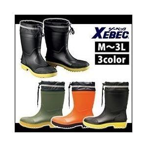 長靴 レインブーツ レインシューズ 防水 雨靴 XEBEC(ジーベック) ショート丈安全長靴 85763|kanamono1