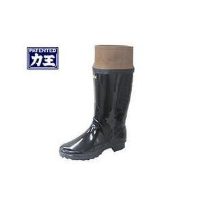 長靴 あったかい 防寒 レインブーツ レインシューズ 防水 雨靴 梅雨対策 力王 防雪長(裏付き) B030|kanamono1