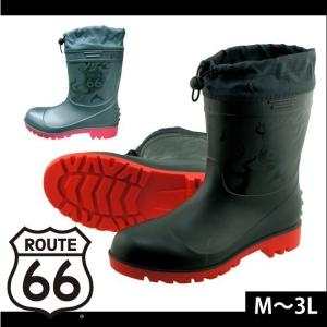 【エントリーでポイント5倍】安全長靴 ROUTE66(ルート66)ショートPVC安全ブーツ 66-85 富士手袋工業|kanamono1