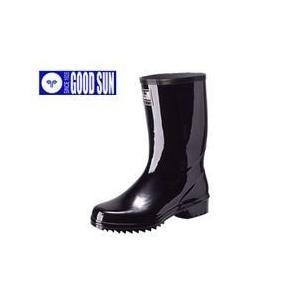 長靴 ムレない レインブーツ レインシューズ 防水 雨靴 梅雨対策 弘進ゴム ムレノン紳士半長|kanamono1