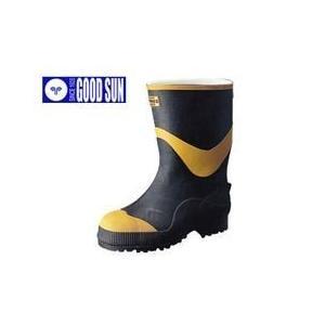 長靴 安全長靴 レインブーツ レインシューズ レディース 女性サイズ対応 防水 雨靴 梅雨対策 弘進ゴム フエルト安全半長F型|kanamono1