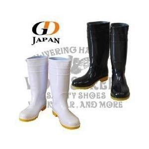 長靴 安全長靴 レインブーツ レインシューズ 防水 雨靴 梅雨対策 GDJAPAN ジーデージャパン 安全長靴 RB-618|kanamono1