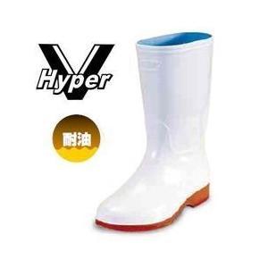 長靴 レディース レインブーツ レインシューズ かわいい 防水 雨靴 梅雨対策 日進ゴム Hyper V(ハイパーV)衛生長靴 #4000 女性サイズ対応|kanamono1