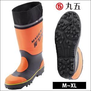 長靴 安全長靴 レインブーツ レインシューズ 防水 雨靴 梅雨対策 丸五 マジカルスパイク #900|kanamono1