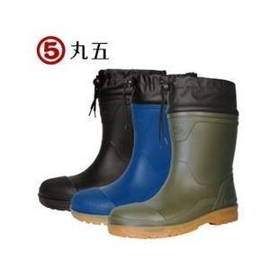 長靴 ショート レディース レインブーツ レインシューズ 防水 雨靴 梅雨対策 丸五 安全プロハークス #890|kanamono1