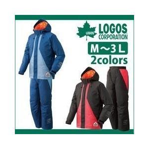 防水防寒スーツ パーチ 30922 ロゴス 雨がっぱ 合羽|kanamono1