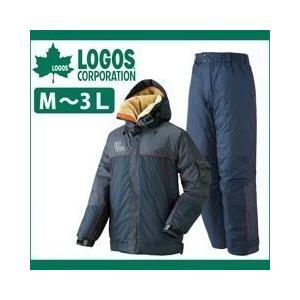 防水防寒スーツ ハンク 30717 ロゴス 雨がっぱ 合羽|kanamono1