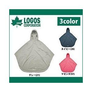 LOGOS(ロゴス)/レインウエア/サイクルレインポンチョ 28271|kanamono1