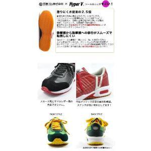 【ポイント10倍!7/21まで】安全靴 スニーカー 日進ゴム ハイパーv(HyperV) #206 軽量|kanamono1|02
