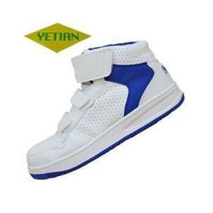 安全靴 スニーカー ハイカット マジックテープ おしゃれイエテン ミドルガード N6020|kanamono1