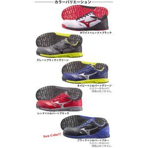 ポイント10倍!あすつく 安全靴 MIZUNO ミズノ プロテクティブスニーカー オールマイティ LS C1GA1700 作業靴 メンズ レディース 女性 おしゃれ 軽量 セーフティ|kanamono1|03