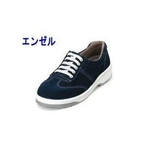 エンゼル 安全靴 ウレタン2層スニーカー(ヒモ) AN3051ベロア メンズ レディース 女性対応|kanamono1