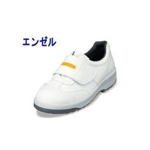 エンゼル 安全靴 ウレタン2層合皮スニーカー(静電マジック) ANAS3053B メンズ レディース 女性対応|kanamono1