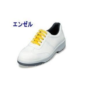 エンゼル 安全靴 ウレタン2層合皮スニーカー(静電ヒモ) ANAS3051B メンズ レディース 女性対応|kanamono1