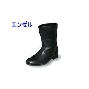 エンゼル 作業靴 消防用作業半長靴 M312 メンズ レディース 女性対応|kanamono1