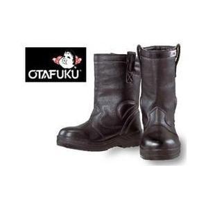 安全靴 レディース 対応 おたふく 半長靴(踏み抜き防止鋼板入)JW-777 ブーツ 4E 高所用安全靴|kanamono1