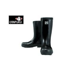 おたふく 安全長靴 安全軽半ゴム長靴 WW-711|kanamono1