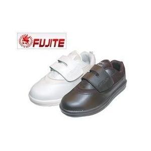 富士手袋工業 安全靴 セーフライト安全シューズ 1231 ブラック ホワイト メンズ レディース 女性対応|kanamono1