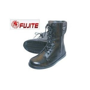 安全靴 ブーツ 富士手袋工業 セフメイト 長編上 9955 |4E 半長靴 編み上げ ワークストリート|kanamono1
