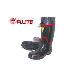 富士手袋工業 安全長靴 セフメイト黒赤ラインブーツ 891|kanamono1