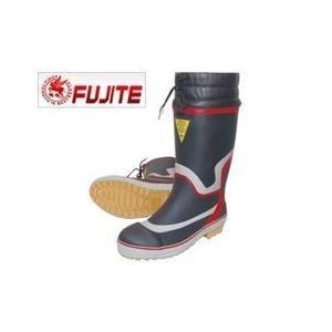 富士手袋工業 安全長靴 鉄芯・鉄板入りセフティブーツ 920 ネイビー ブラック|kanamono1