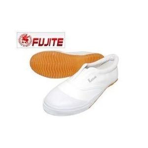 富士手袋工業 作業靴 かっとびぐつ FT-1100 ホワイト ネイビー|kanamono1