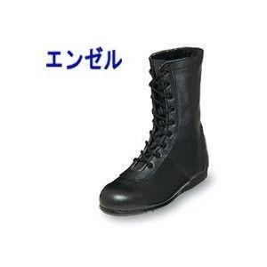 エンゼル 作業靴 消防用作業長編靴 5801 メンズ レディース 女性対応|kanamono1