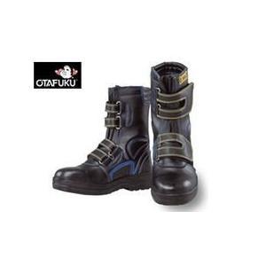 おたふく 安全靴 安全シューズ静電半長靴マジックタイプ JW-773 メンズ レディース 女性対応|kanamono1