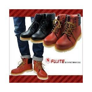 安全靴 ハイカット FJT 安全ワークブーツ 5909 作業靴 セーフティーシューズ 富士手袋工業|kanamono1