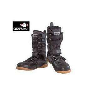 おたふく 安全靴  黒鳶(先丸) / JW-685|kanamono1