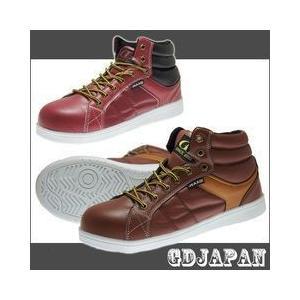 GDJAPAN(ジーデージャパン) 安全靴 カジュアル ワークシューズ GD-734 GD-735 ハイカット|kanamono1