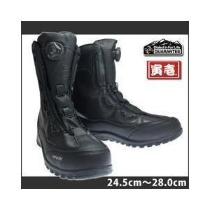 寅壱 安全靴 セーフティーBOA長編み 0194-961|kanamono1