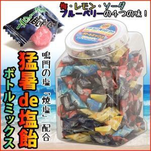 塩飴 業務用 熱中症 対策 猛暑de塩飴 約200粒入 ボトルミックス|kanamono1