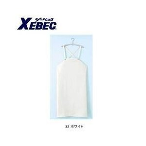 XEBEC(ジーベック) 衛生用品 ウレタン胸付前掛けW 25501|kanamono1