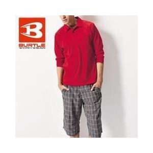 BURTLE(バートル) 春夏作業服 長袖ポロシャツ 103|kanamono1