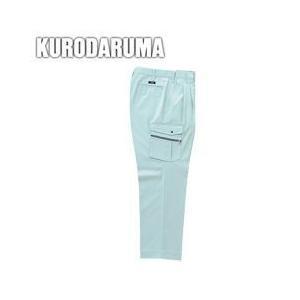 クロダルマ 秋冬作業服 カーゴパンツ(ツータック) 35491|kanamono1
