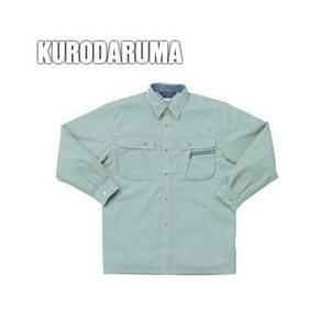 クロダルマ 春夏作業服 長袖シャツ 25011|kanamono1