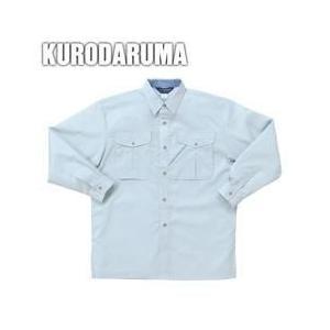 クロダルマ 春夏作業服 長袖シャツ 25026|kanamono1
