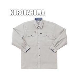 クロダルマ 春夏作業服 長袖シャツ 25055|kanamono1