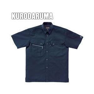 クロダルマ 春夏作業服 半袖シャツ 26493|kanamono1
