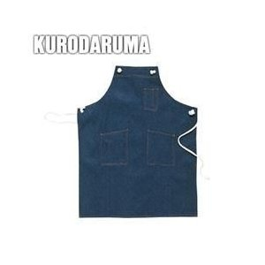 クロダルマ 春夏作業服 デニムエプロン(ロープ) 47223|kanamono1