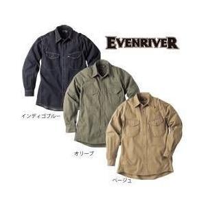 EVENRIVER(イーブンリバー) 秋冬作業服 ヘリンボン シャツ US-206 kanamono1