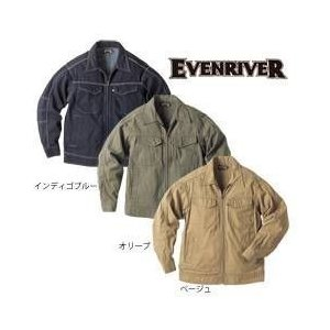 EVENRIVER(イーブンリバー) 秋冬作業服 ヘリンボン ブルゾン US-207|kanamono1