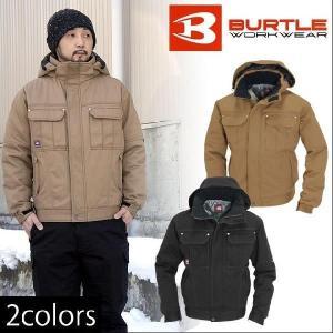 BURTLE(バートル) 秋冬作業服 防寒ジャケット(大型フード付) 8110|kanamono1