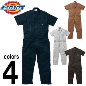 Dickies(ディッキーズ) 春夏作業服 半袖つなぎ服 711|kanamono1