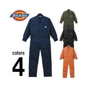 Dickies(ディッキーズ) 秋冬作業服 年間物つなぎ服 1101|kanamono1