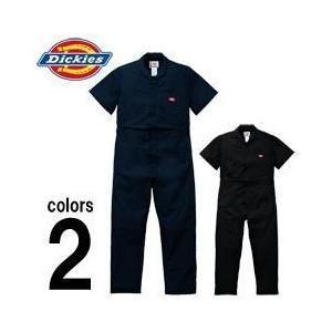 Dickies(ディッキーズ) 春夏作業服 半袖インポートつなぎ服 33999|kanamono1